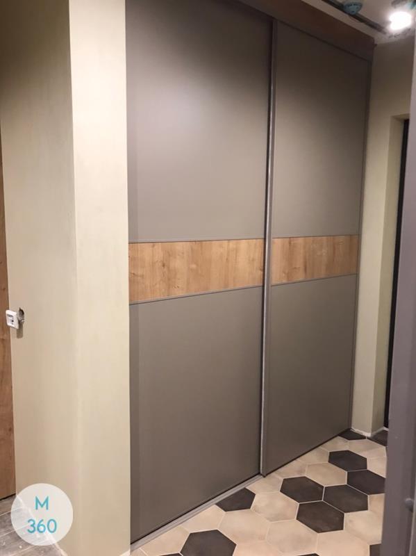 Серый гардеробный шкаф Куртуа Арт 000079925