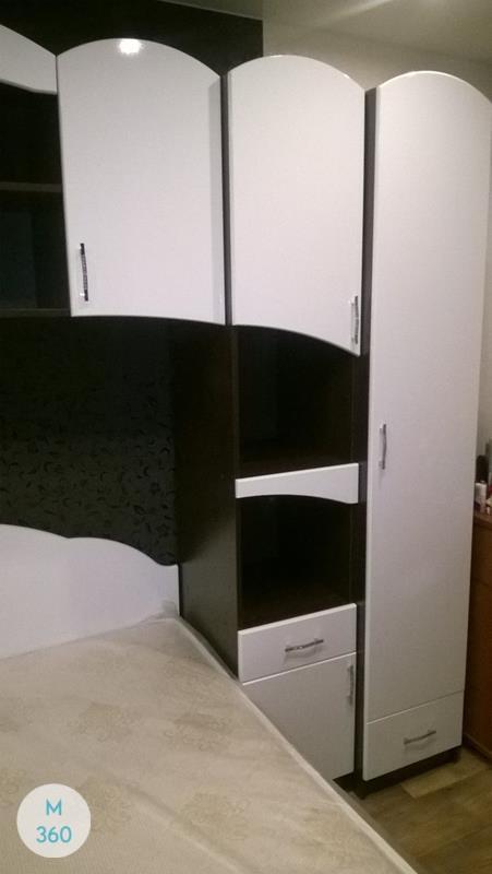 Распашной глянцевый шкаф Малайзия Арт 000236081