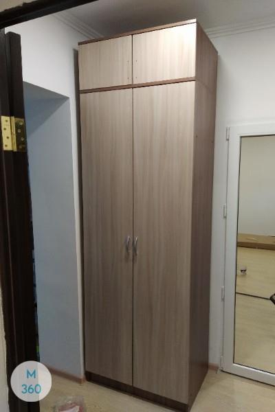 Серый распашной шкаф Мавритания Арт 000761866