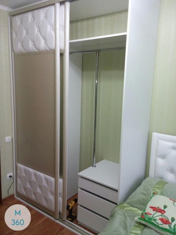 Шкаф купе с кожаными вставками Ирири Арт 000765937