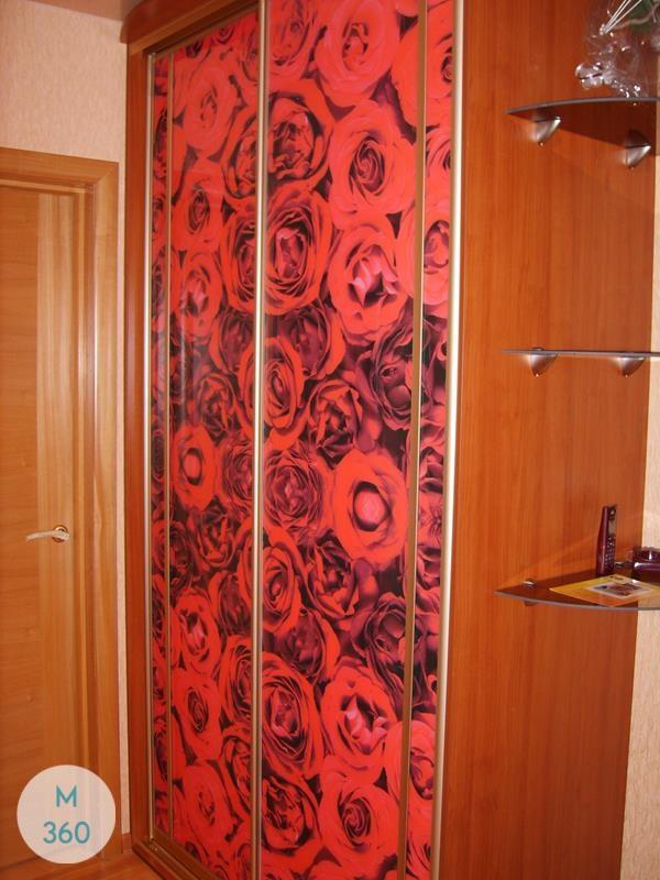 Красный шкаф купе Вадуц Арт 000868787