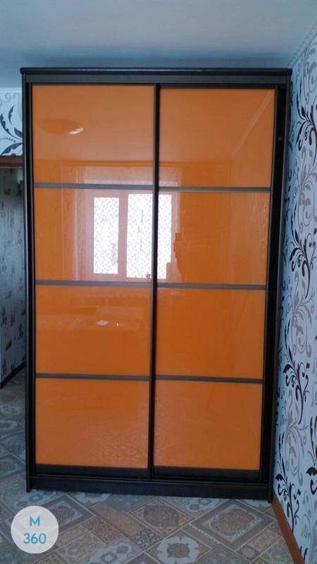 Оранжевый шкаф купе Анапа Арт 000869798