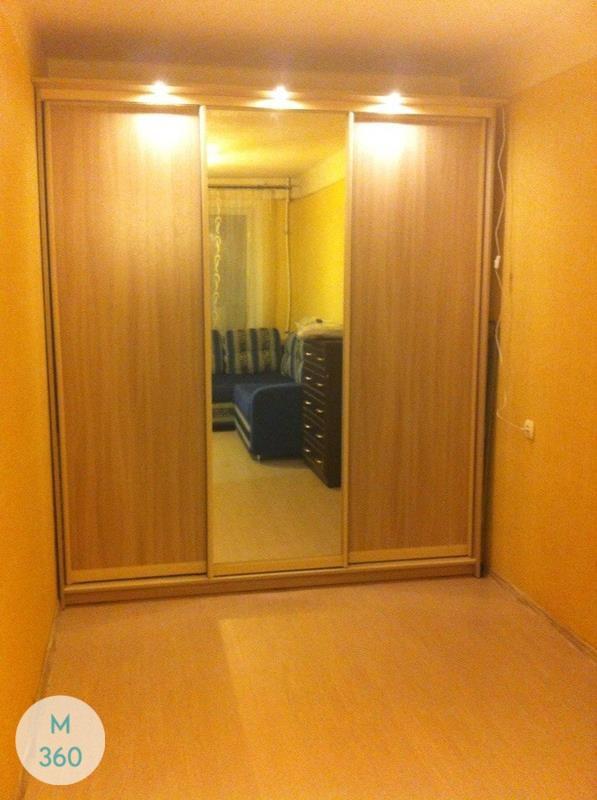 Радиусный шкаф с зеркалом Ломе Арт 000964627