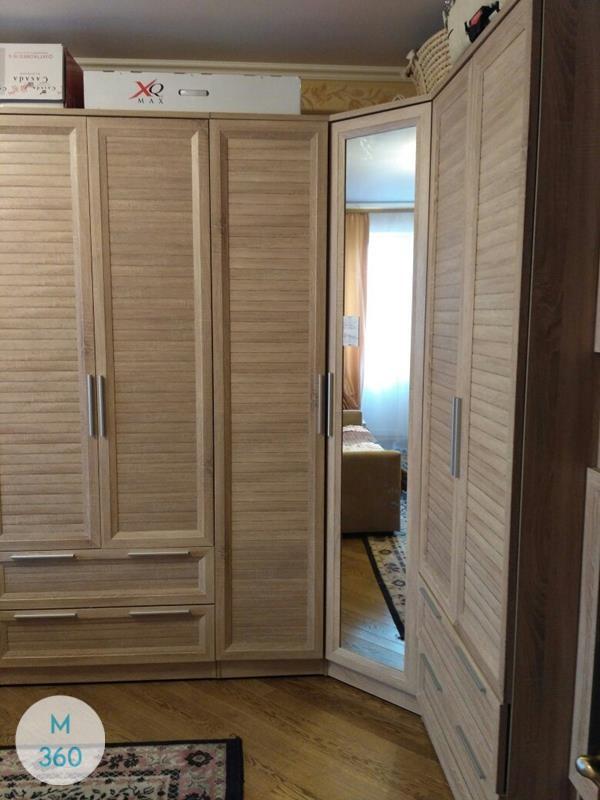 Шкаф из ДСП распашной Росток Арт 001268352