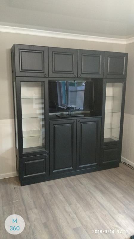 Распашной шкаф со стеклянной дверью Санкуру Арт 001363718