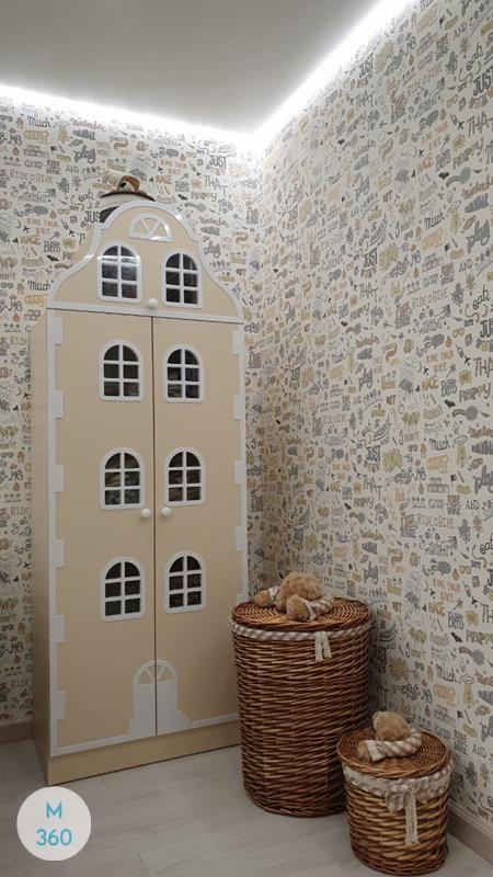 Шкаф для игрушек в детскую Каролина Арт 001400932