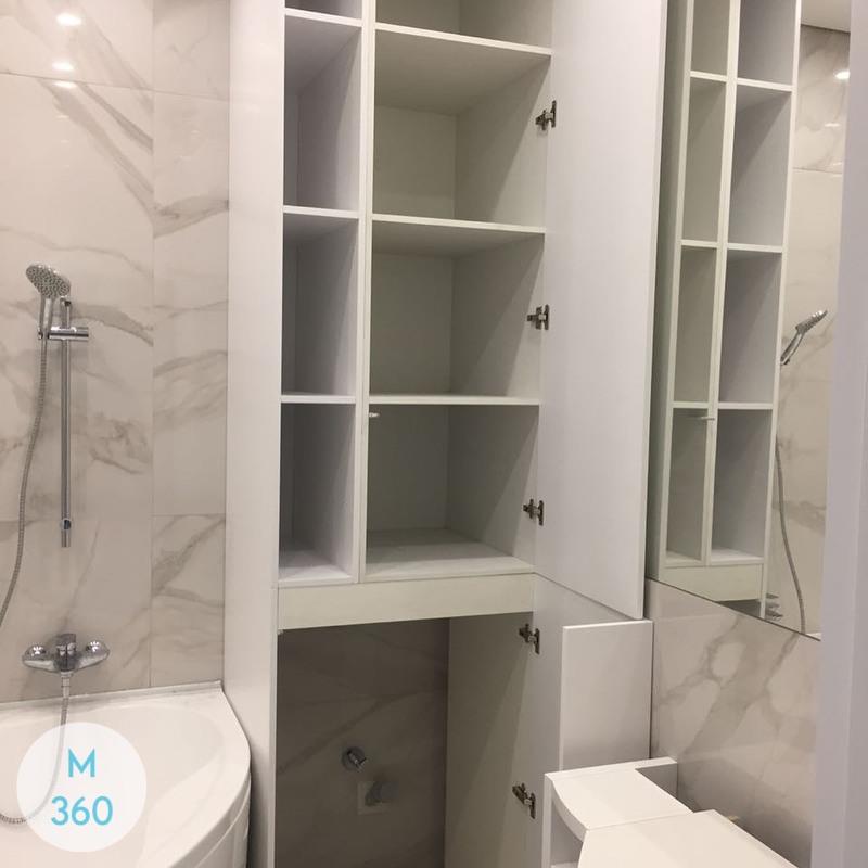 Шкаф в ванную комнату Балтимор Арт 001490600