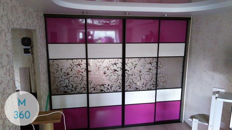 Фиолетовый шкаф купе Иваново Арт 001514445