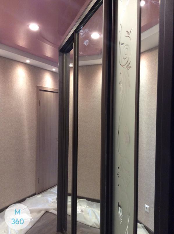 Шкаф купы с пескоструйным рисунком Манфредо Арт 001879518