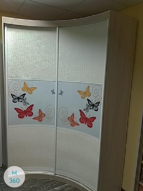 Шкаф купе с кожаными вставками Нукуалофа Арт 001900757