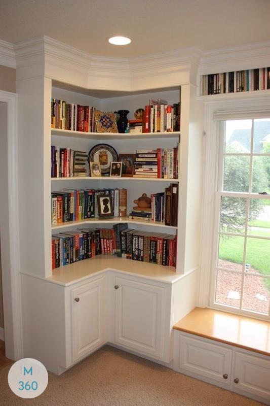 Угловой книжный шкаф Атланта Арт 001906024