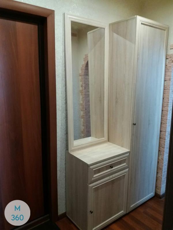 Шкаф с боковым зеркалом Кэри Арт 001912437