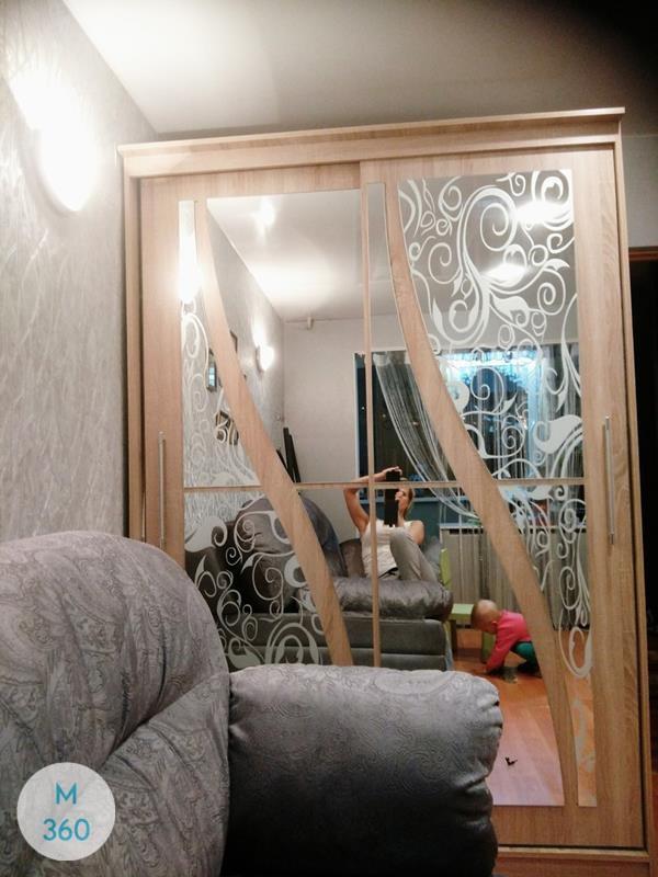 Шкаф с боковым зеркалом Сиборг Арт 001992753