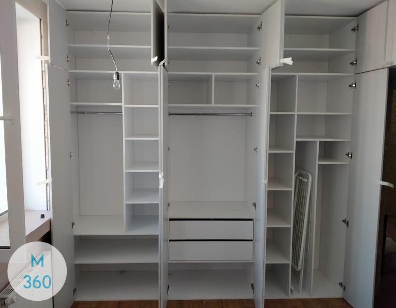 Комбинированный распашной шкаф Модена Арт 002102141