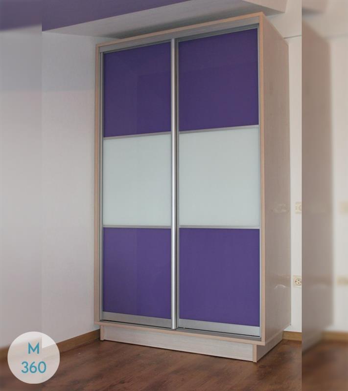 Фиолетовый шкаф купе Витим Арт 002157884