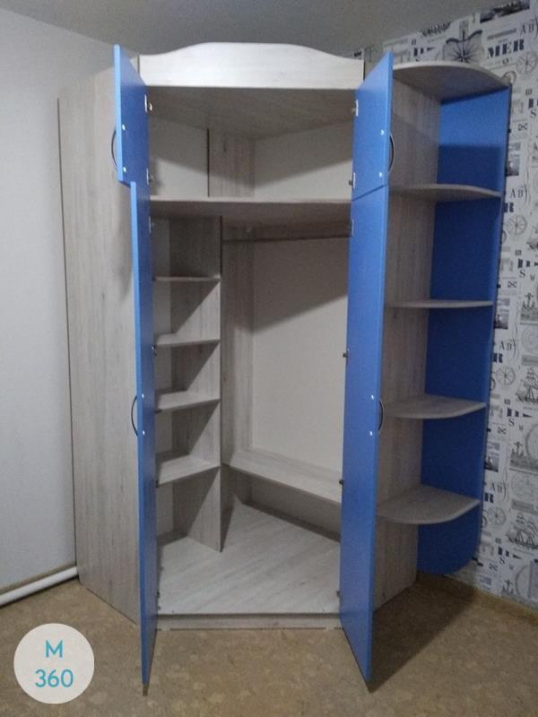 Серый распашной шкаф Риф Арт 002222322