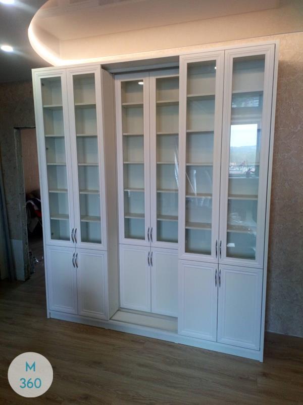 Книжный шкаф со стеклянными дверцами Ермиония Арт 002276969