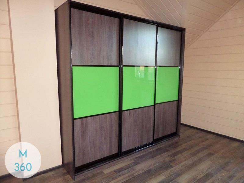 Зеленый шкаф купе Паликир Арт 002293521
