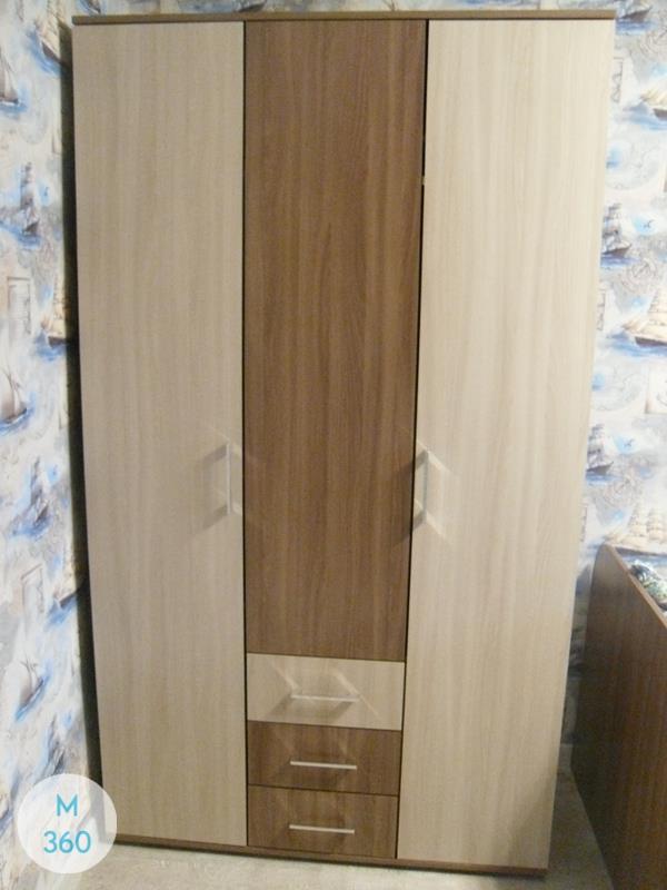 Шкаф из ДСП распашной Монца Арт 002335276