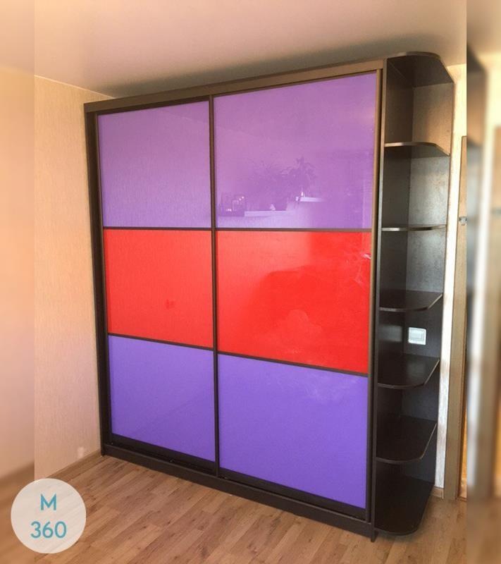 Фиолетовый шкаф купе Линкольн Арт 002366163
