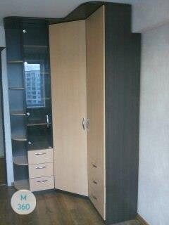 Распашной шкаф из массива дерева Малави Арт 002507265
