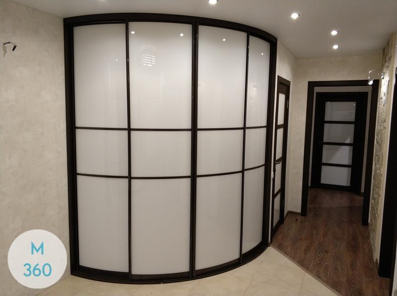Радиусный шкаф в прихожую Риччи Арт 002555078