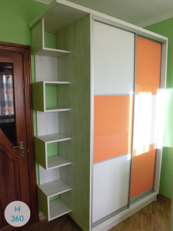 Оранжевый шкаф купе Торонто Арт 002640393
