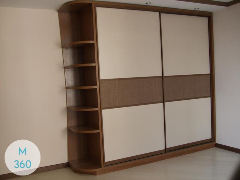 Шкаф купе с кожаными вставками Кристиано Арт 002726987