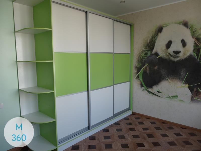 Зеленый шкаф купе Лена Арт 002764173