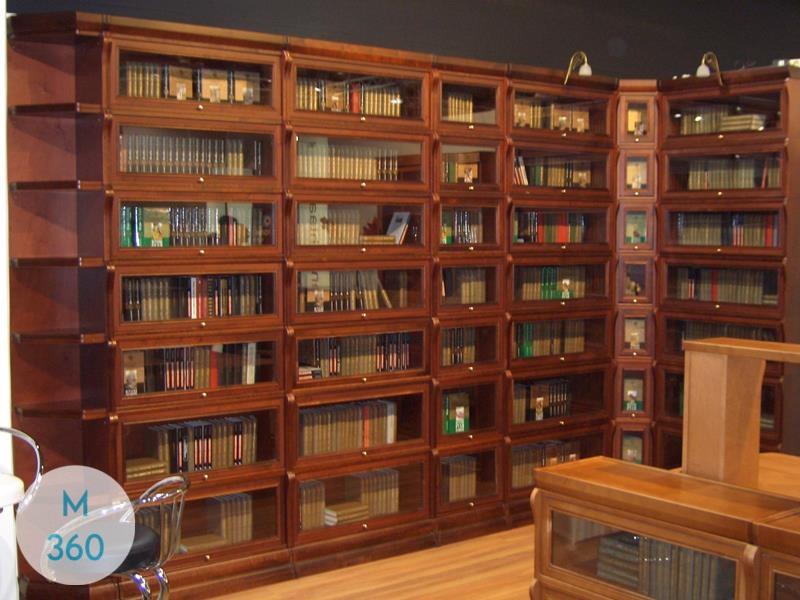 Книжный шкаф со стеклянными дверцами Гатчина Арт 002771877