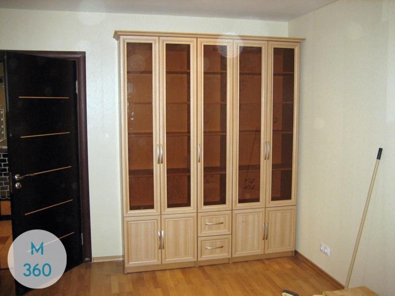 Книжный шкаф со стеклянными дверцами Польша Арт 003037060