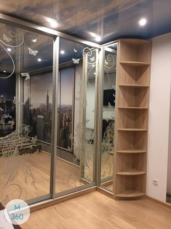 Шкаф купы с пескоструйным рисунком Пеллегрино Арт 003113270