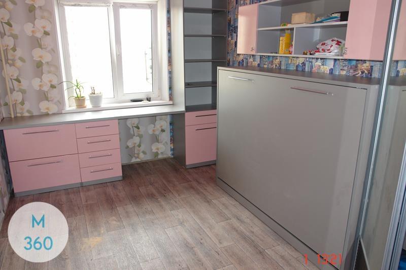 Шкаф-кровать трансформер Пемброк-Пайнс Арт 003149294