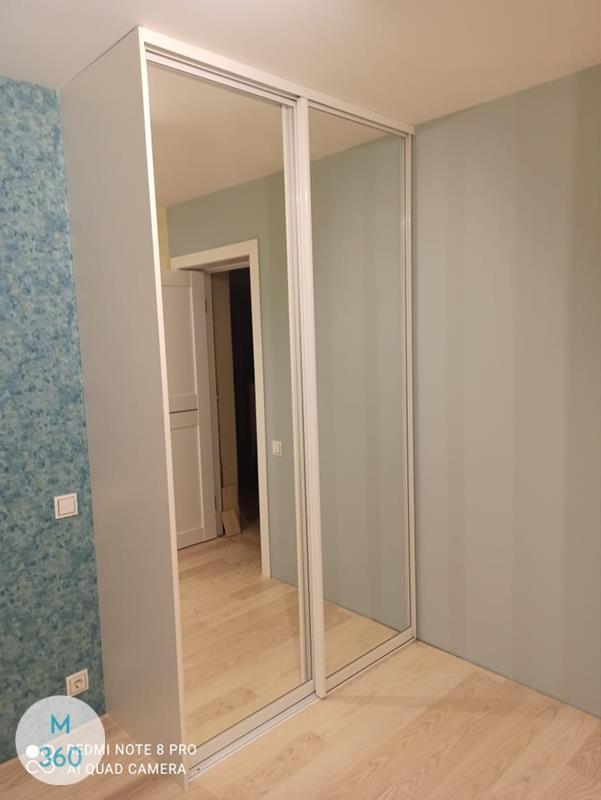Серый гардеробный шкаф Эллингтон Арт 003181834
