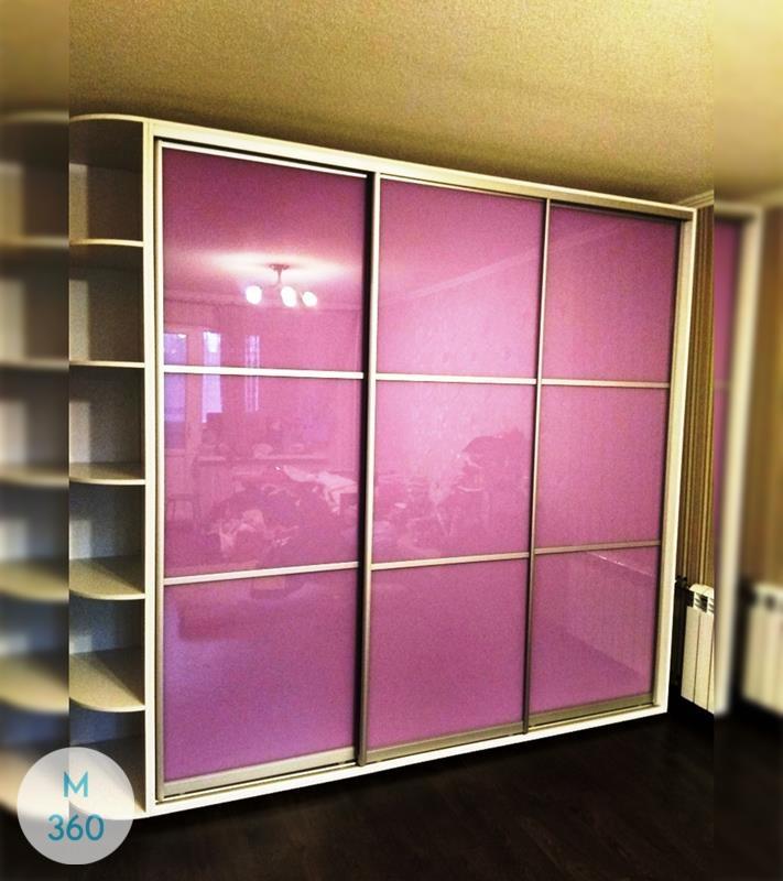 Фиолетовый шкаф купе Оливия Арт 003220392