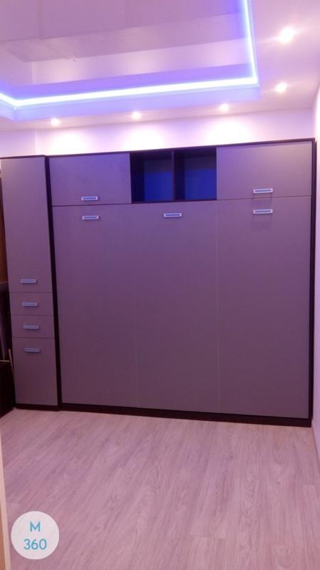 Двуспальный шкаф кровать Херес-Де-Ла-Фронтера Арт 003395414