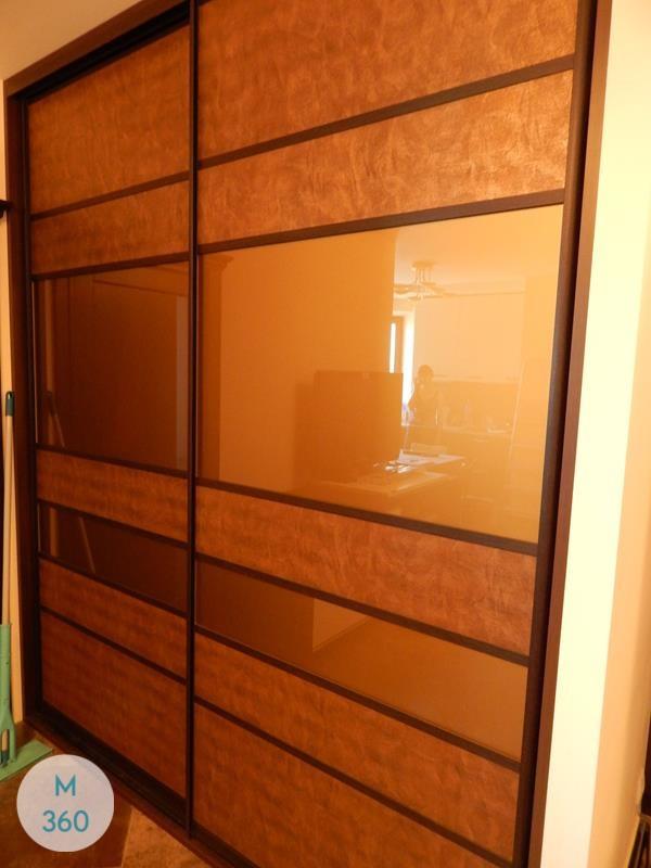Шкаф купе с кожаными вставками Курган Арт 003641298