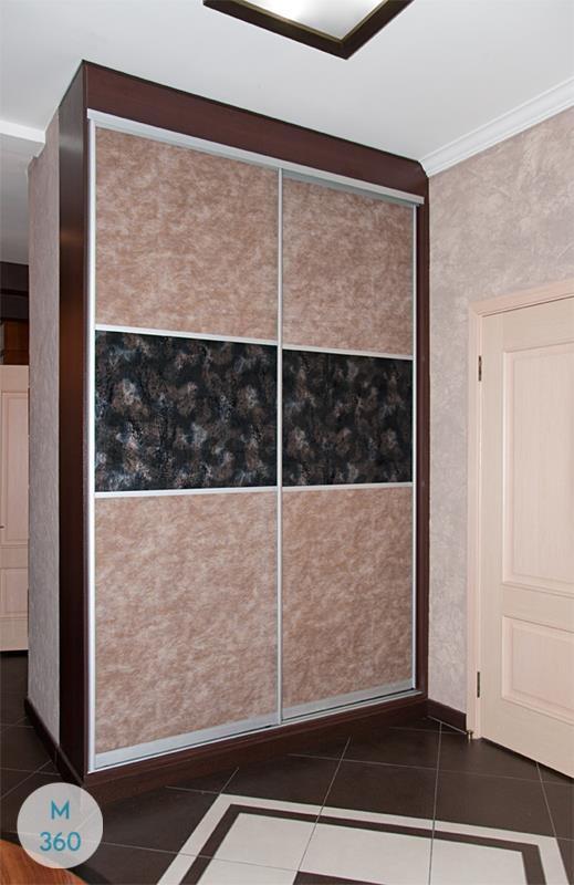 Шкаф купе с кожаными вставками Чарли Арт 003676435