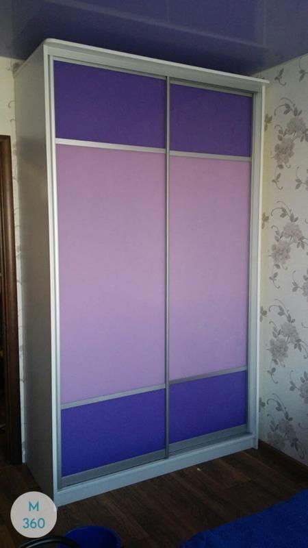 Фиолетовый шкаф купе Бойсе Арт 003685826
