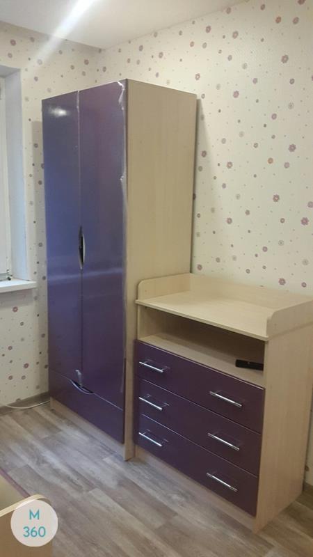 Шкаф пенал для одежды Или Арт 003773281