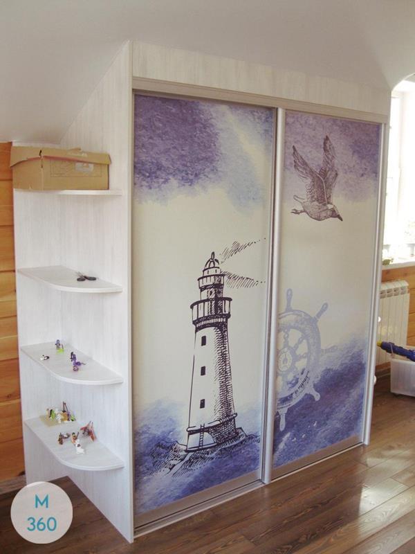 Шкаф в морском стиле Вычегда Арт 003777860