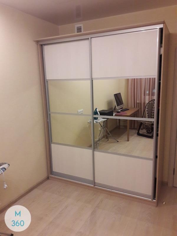 Радиусный шкаф с зеркалом Оснабрюк Арт 003823192