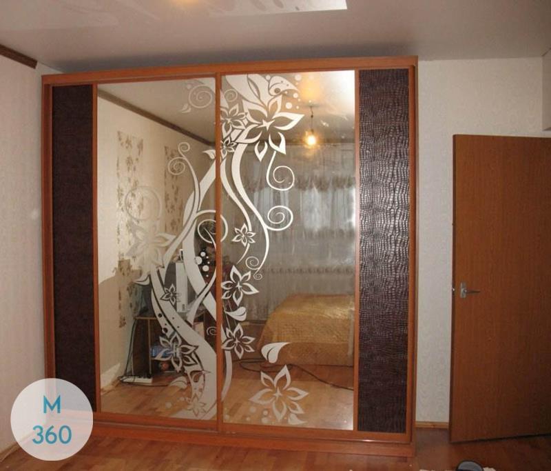 Шкаф купе с кожаными вставками Пекин Арт 004028495