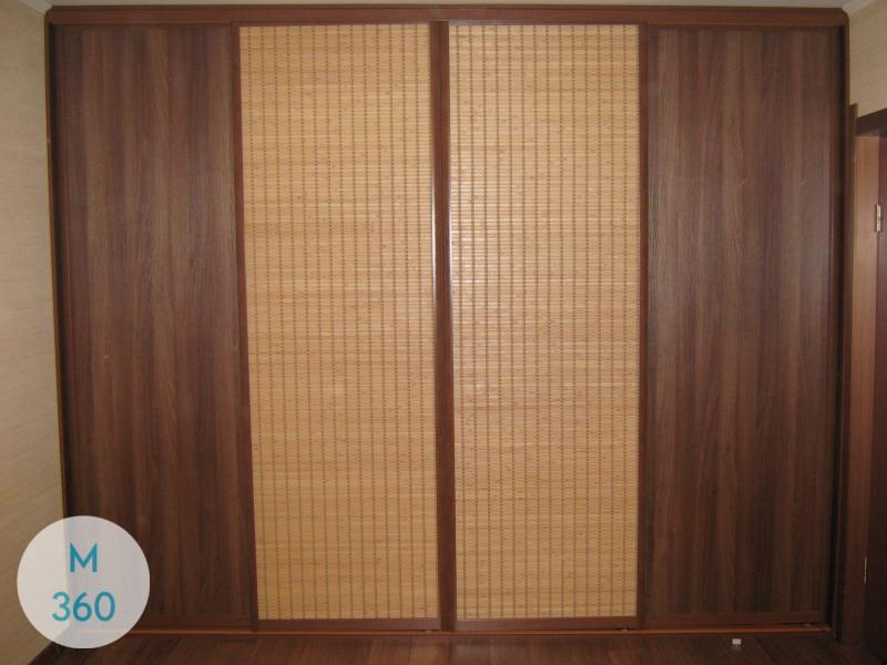 Коричневый шкаф купе Оганесян Арт 004054209