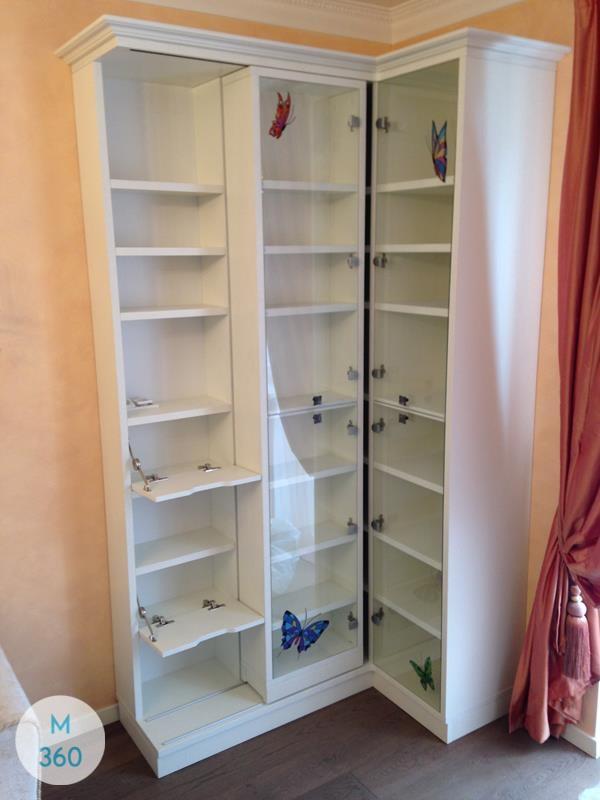 Книжный шкаф со стеклянными дверцами Индигирка Арт 004348847