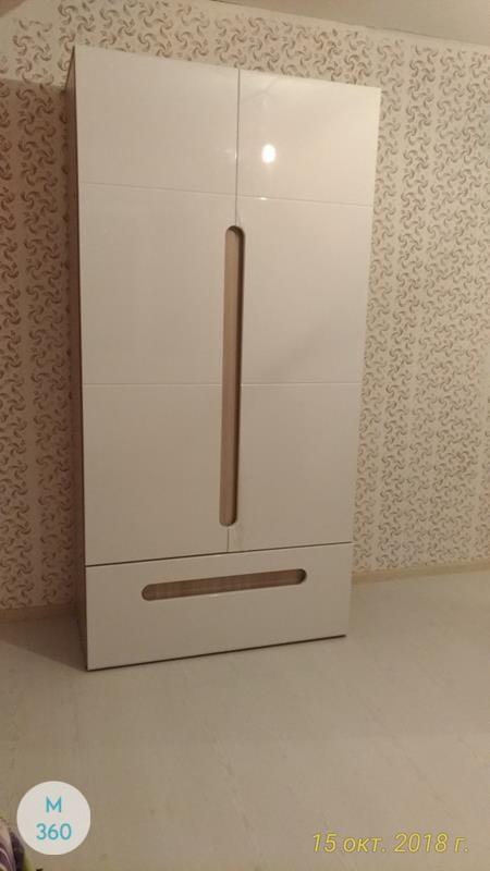 Шкаф пенал для одежды Румба Арт 004516202