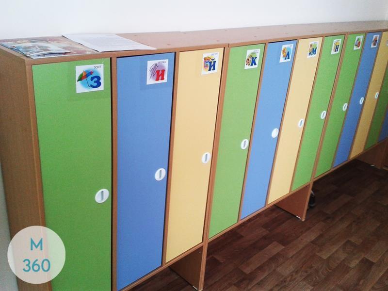 Шкаф для детских раздевалок Яунде Арт 004605679