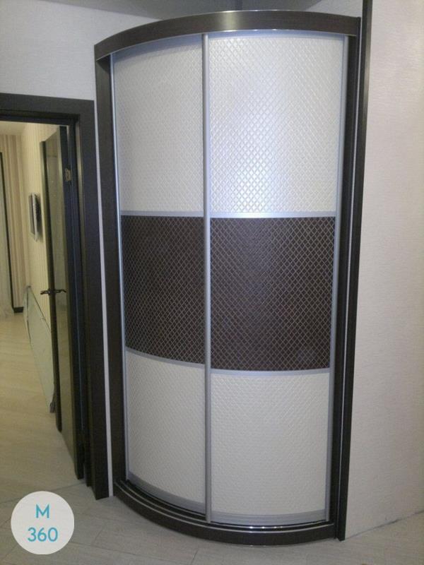 Шкаф купе с кожаными вставками Манчини Арт 004688788