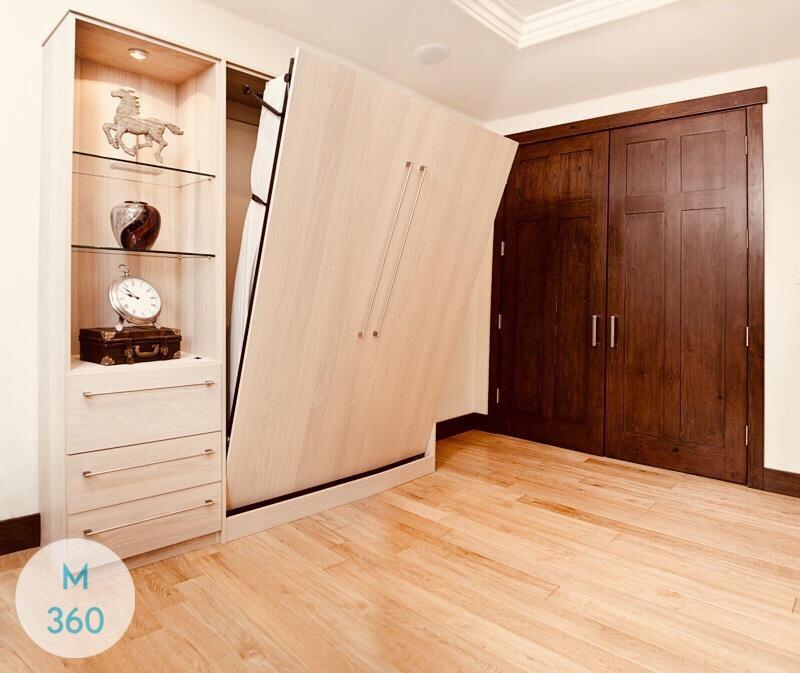Двуспальный шкаф кровать Триполи Арт 005357265