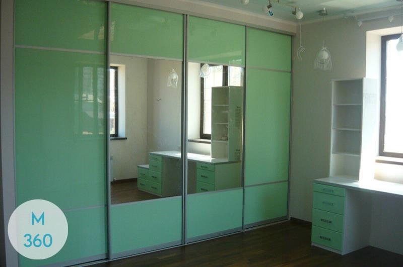 Зеленый шкаф купе Бохум Арт 005392501
